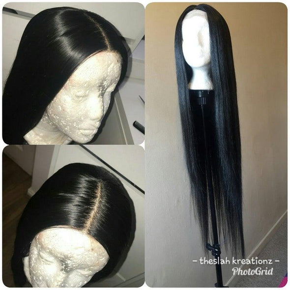 Lace Hair Wigs Straight Brazilian Hair lace front wig hai silky straight lace front wig