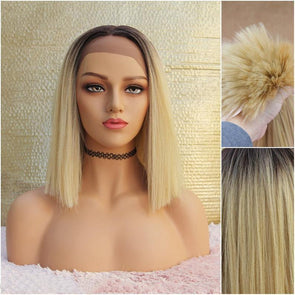 Blonde Lace Front wig, Heat Safe, For Natural Look, Swiss Lace, Extremely Trendy Wig, Alopecia, Medical Wig