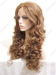 Lace Front Wig Synthetic hair 24�Brown 27HR# mixed 16# Curly Synthetic lace front wigs