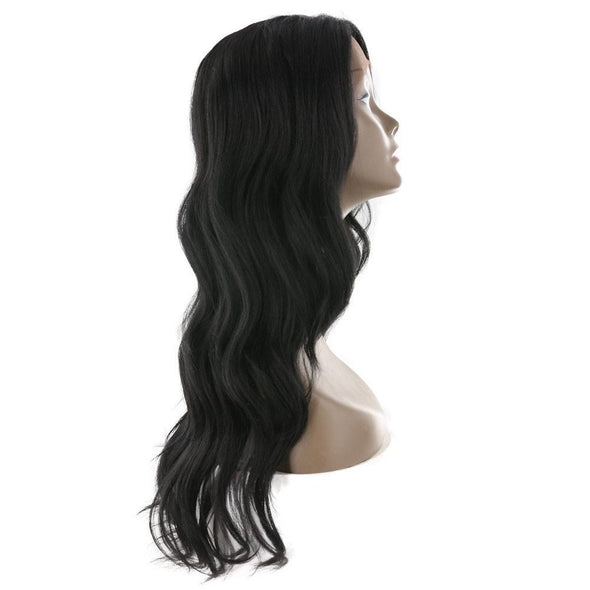 Lace Front Wigs Natural Black Lace Front Wigs Long Wave Free Part For Black Women Free Shipping