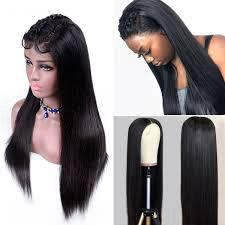 Lace Front Hair Wigs black updo wig