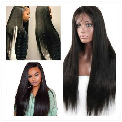 Lace Front Hair Wigs half black half white lace front wig