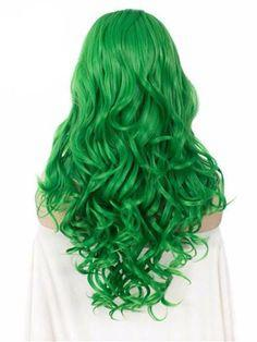 Lace Front wig green hair emerald green lace front wig stargazer tropical green manic panic serpentine green green red hair lime green ombre hair blue to green hair