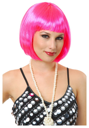Curly Lace Front Wigs Bob Short Hair pink Straight Human Hair Wigs