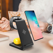 Load image into Gallery viewer, The Rax - 3 in 1 Wireless Charger Stand Holder