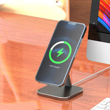 Load image into Gallery viewer, MagStand - Aluminum MagSafe Magnetic Stand for iPhone 12
