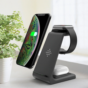 The Rax - 3 in 1 Wireless Charger Stand Holder (3 Pack)