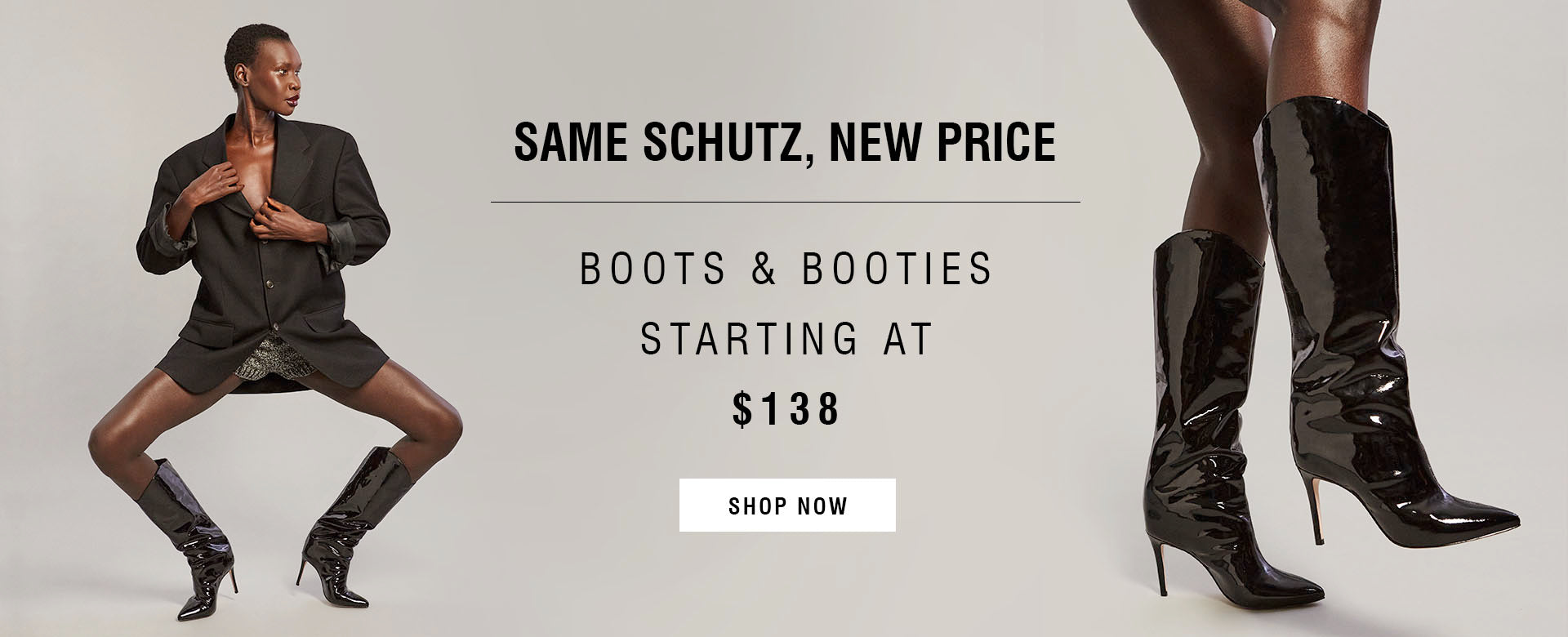 New prices, boots