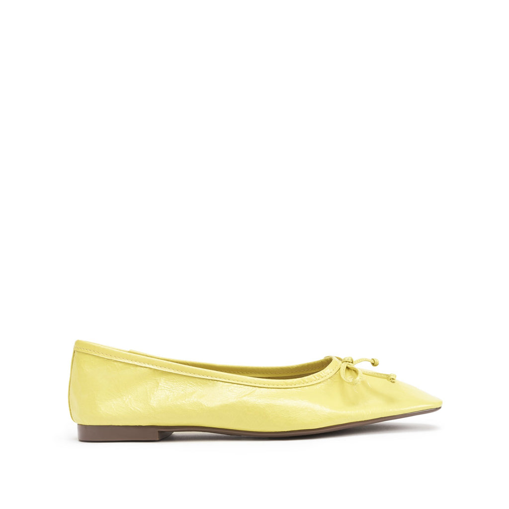 Arissa Flat in Lemon