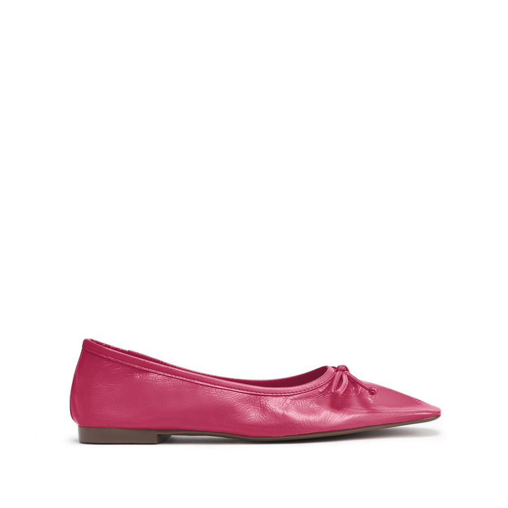 Arissa Flat in Vibrant Pink