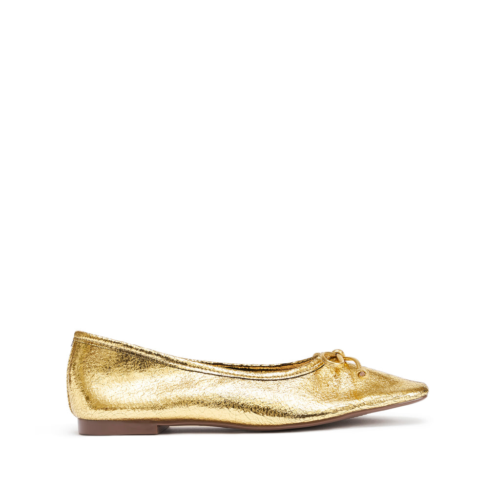 Arissa Flat in Ouro Gold