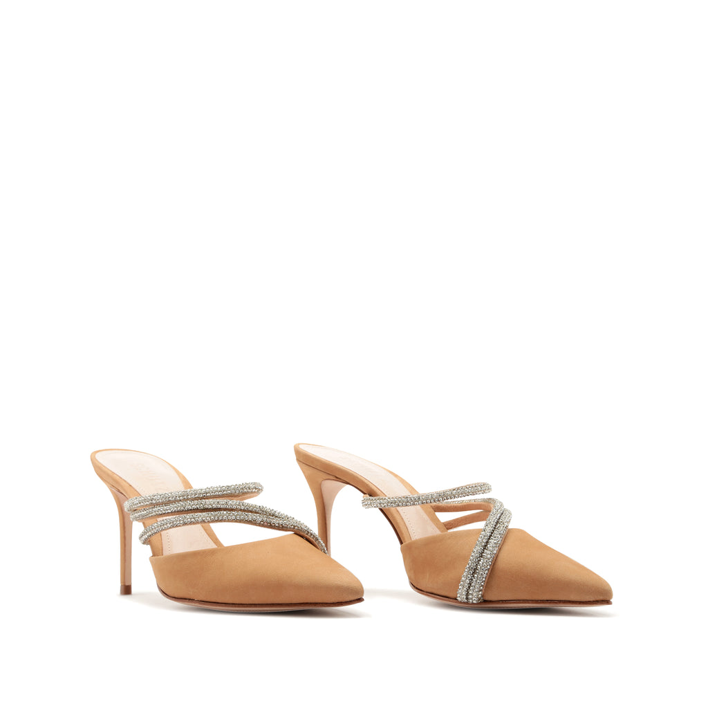 Adaline Mule in Honey Beige