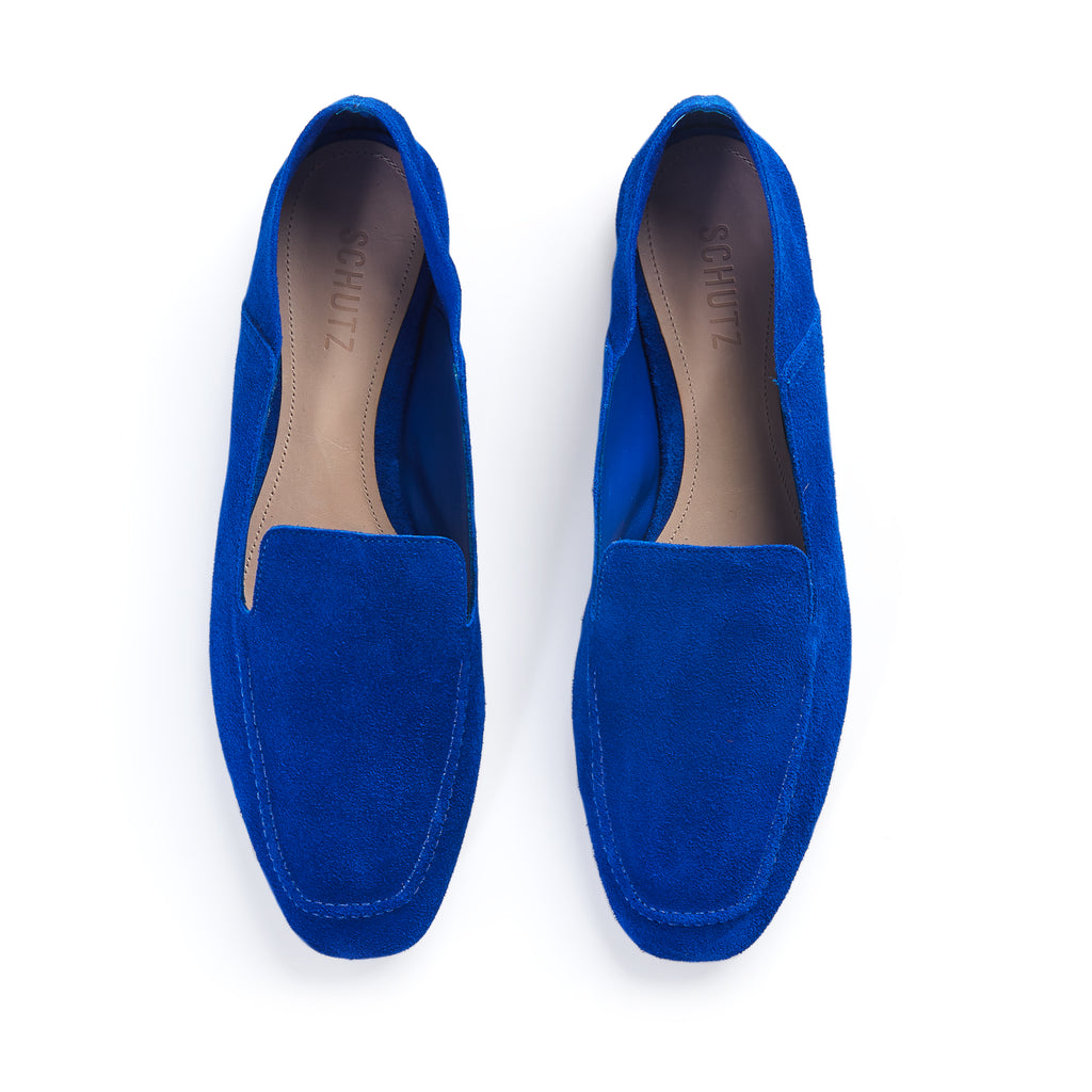 Adina Flat in Avery Blue