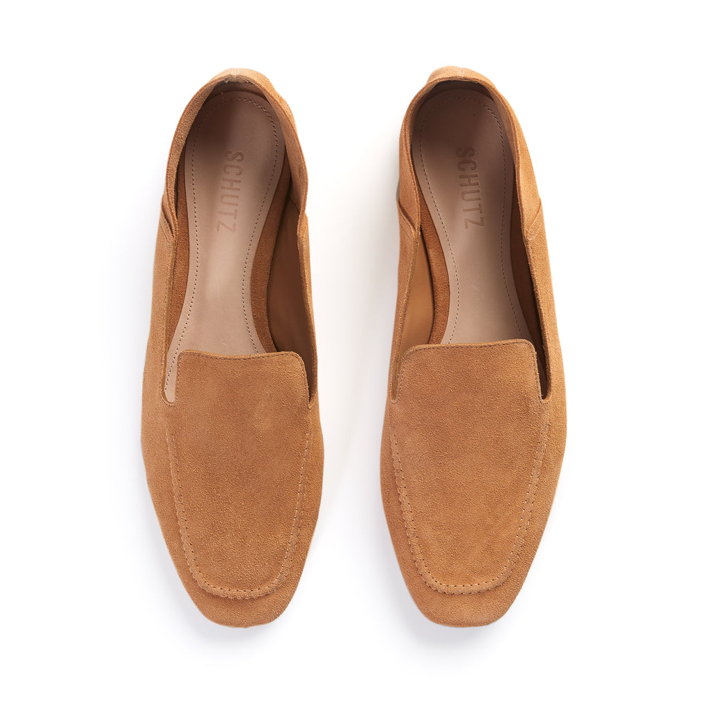 Adina Flat in Honey Beige
