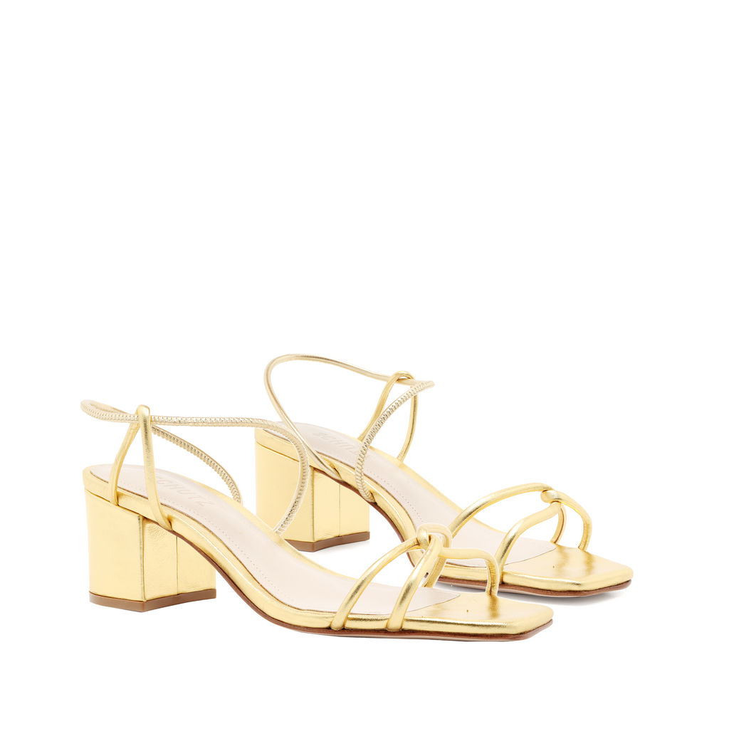 Airana Sandal in Gold