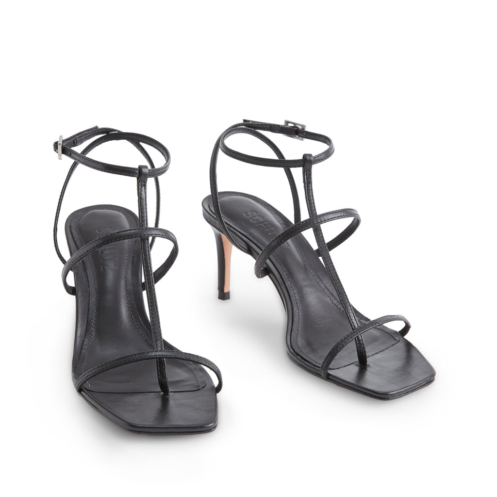 Ameena Sandal in Black