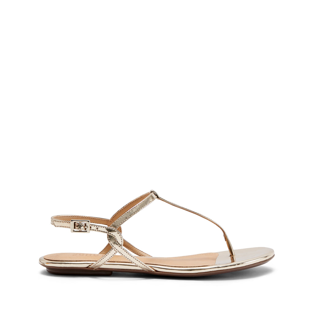 Anaielle Sandal in Platina Gold