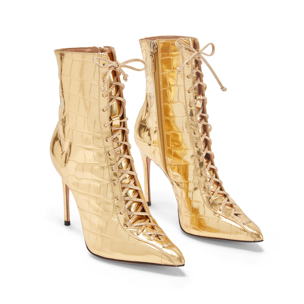 Anaiya Bootie in Ouro Gold