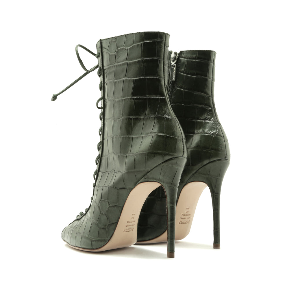 Anaiya Bootie in Deep Green