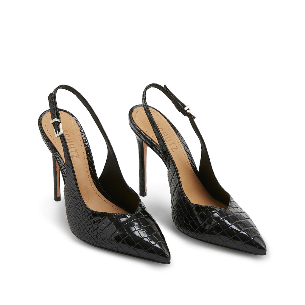 Analise Slingback Pump in Black