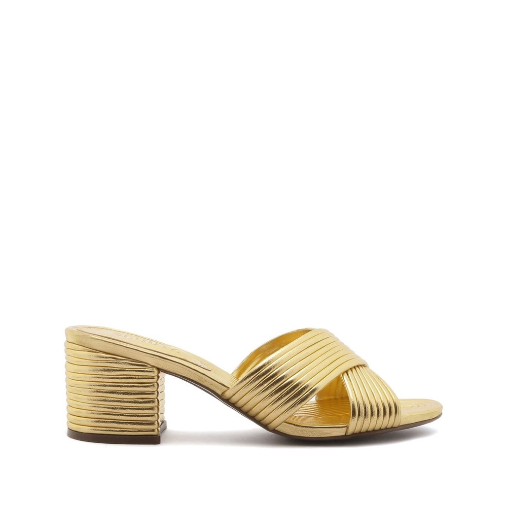 Ana Kate Sandal in Ouro Gold