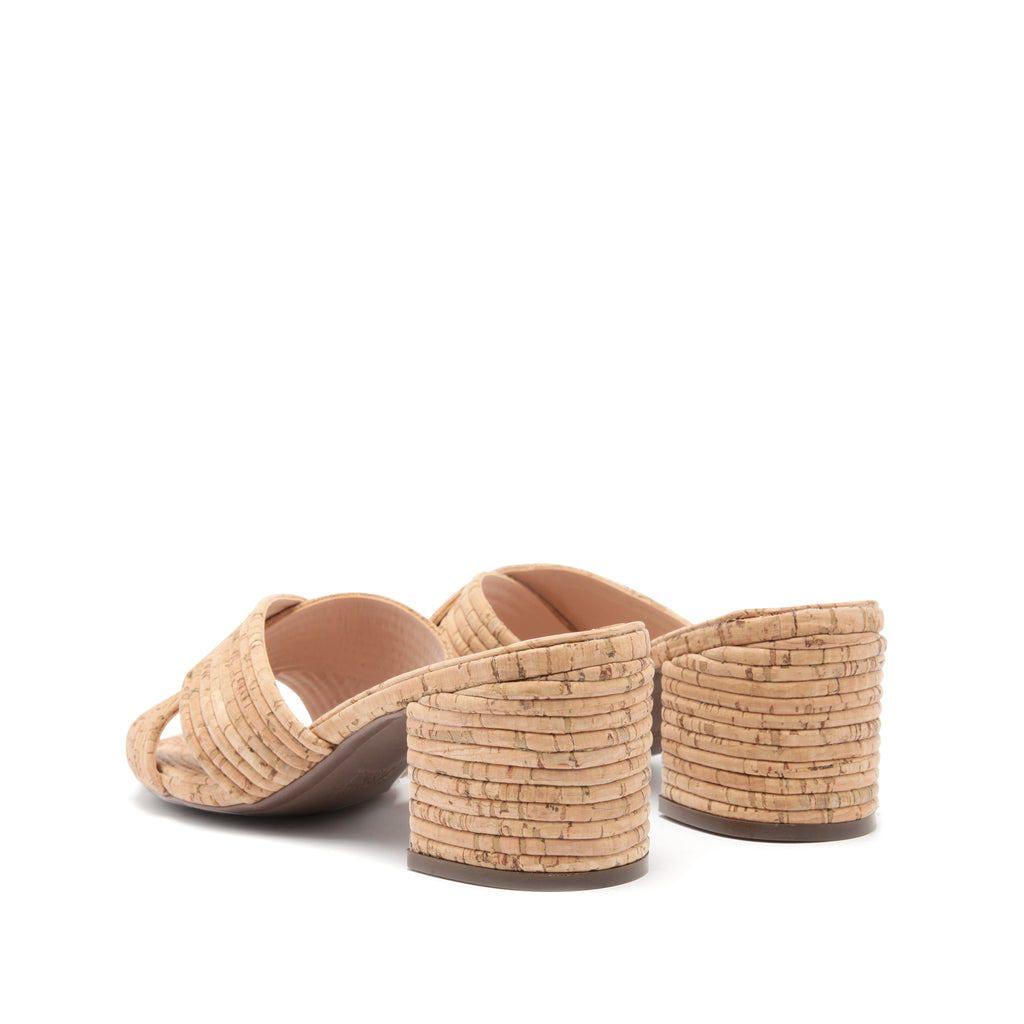 Ana Kate Sandal in Natural Cork
