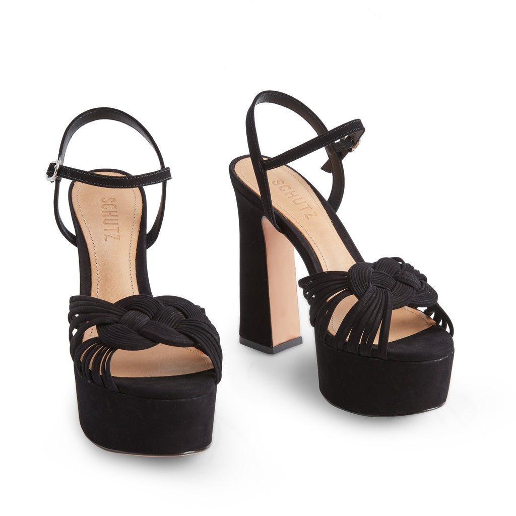 Anselma Sandal in Black