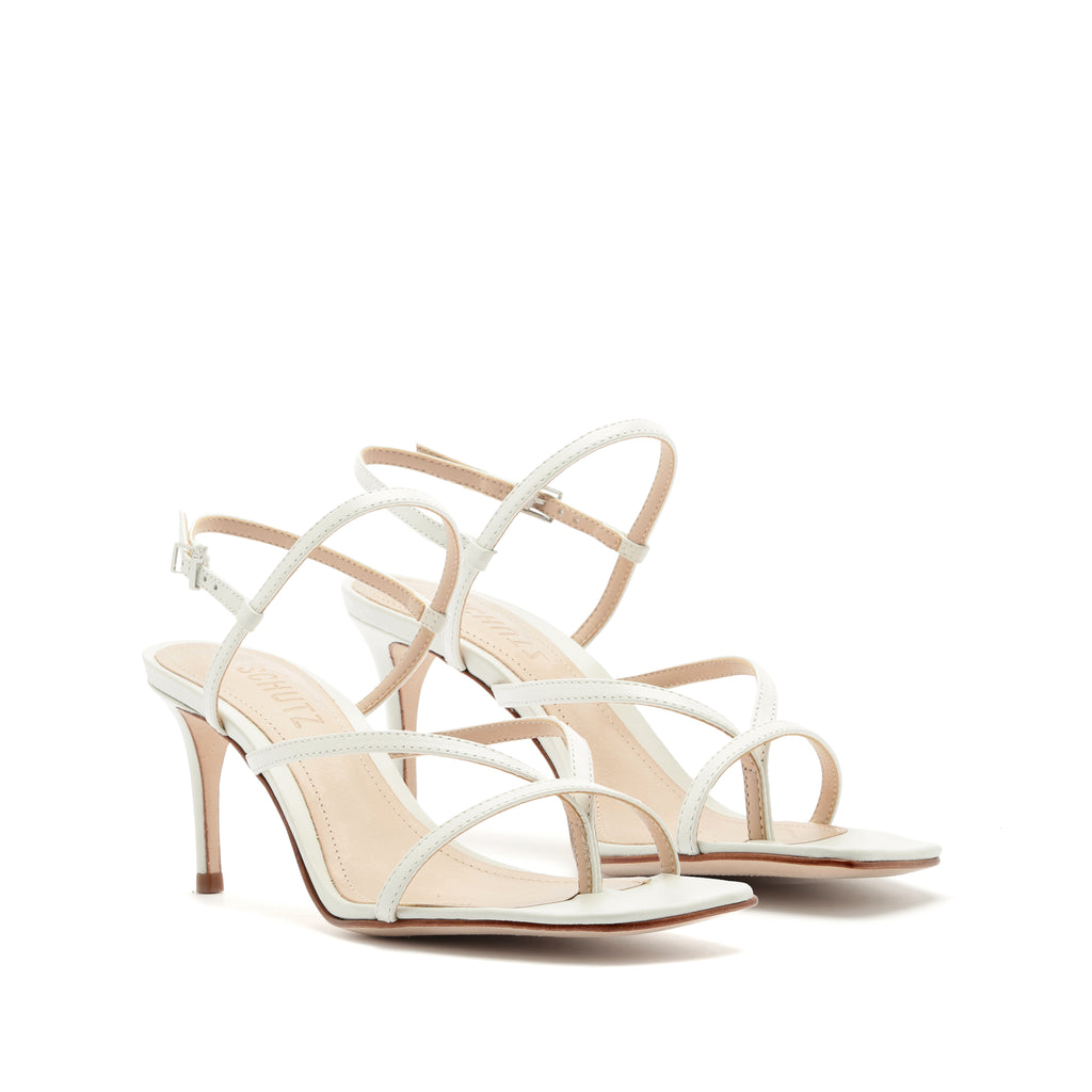 Aurora Sandal in White