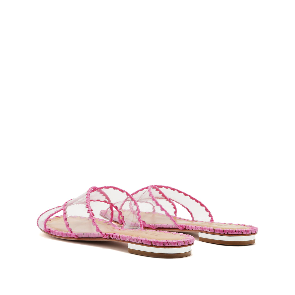 Aya Slide Sandal in Pink