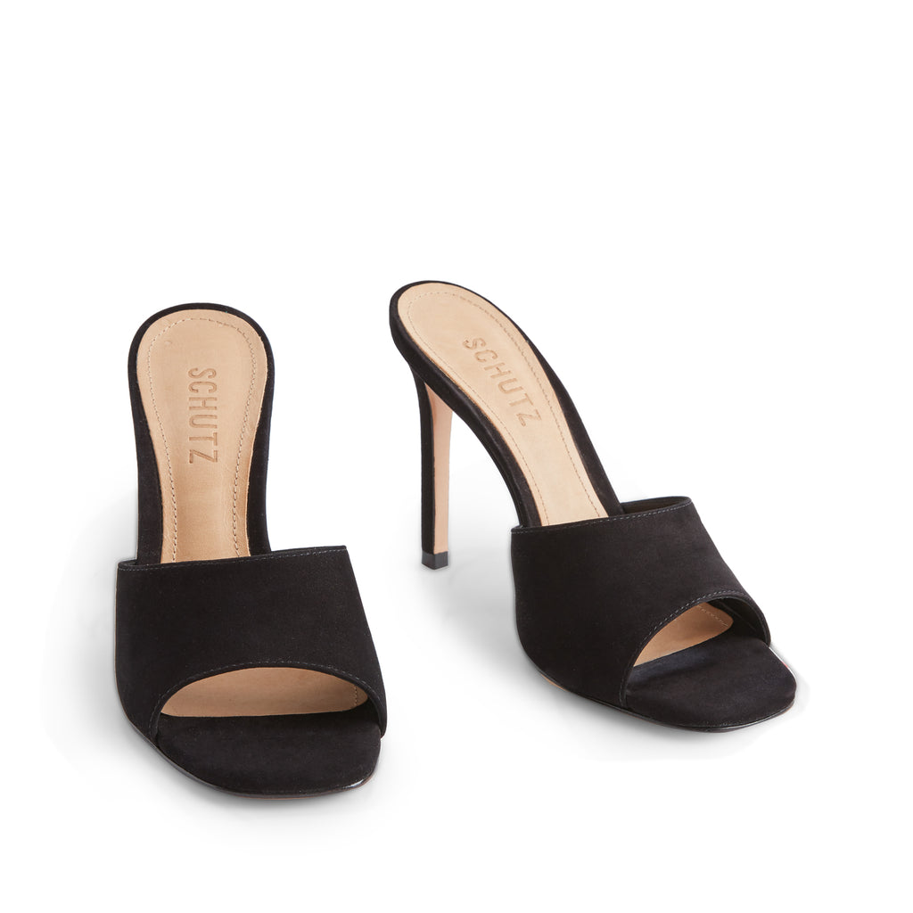 Bardana Sandal in Black