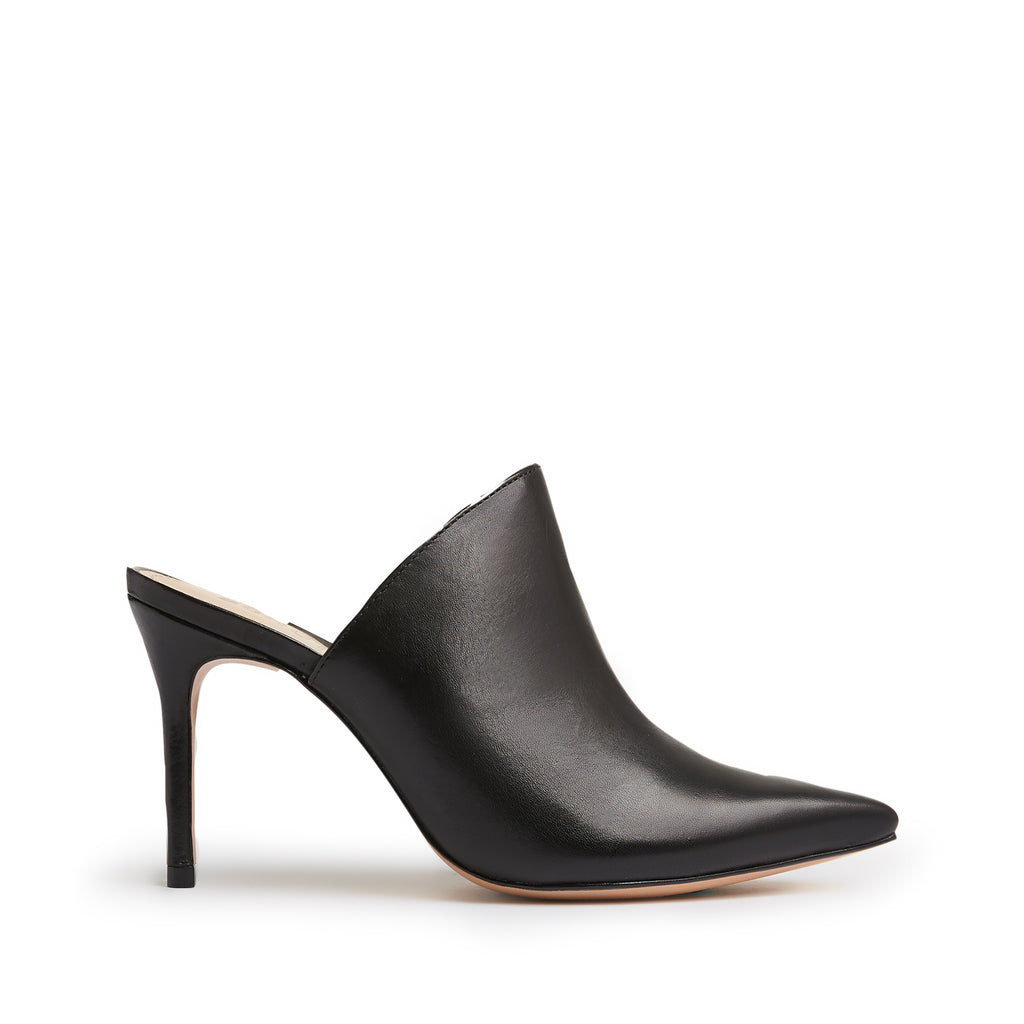 Bardot Mule in Black