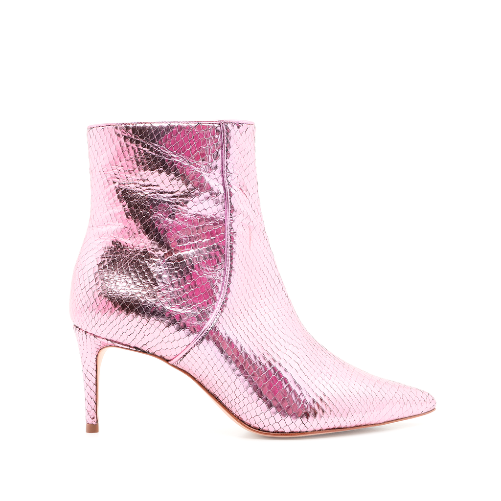 Bette Bootie in Cerise