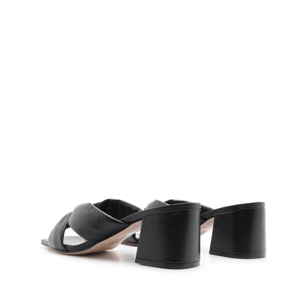 Butterfly Sandal in Black