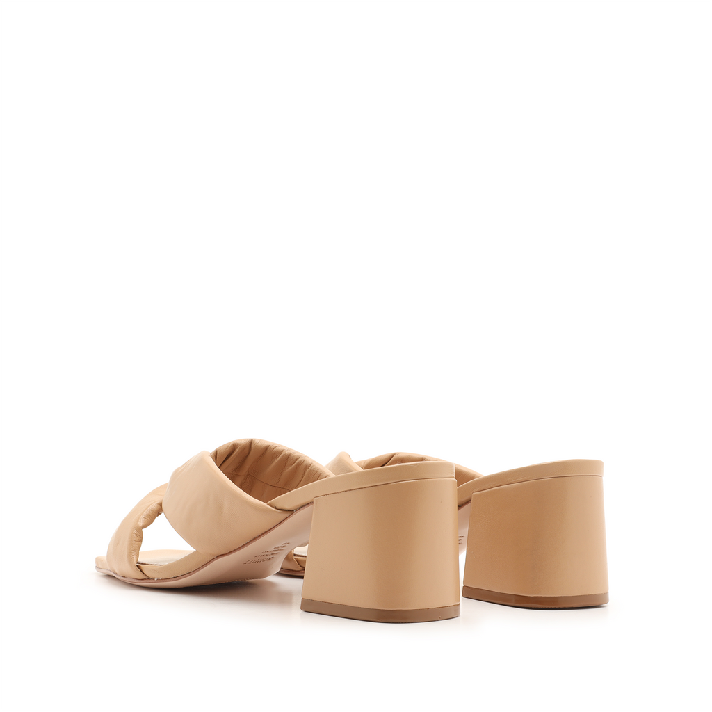 Butterfly Sandal in Honey Beige