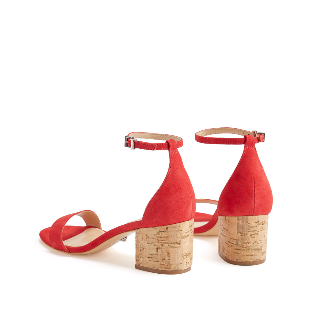 Chimes Sandal in Club Red