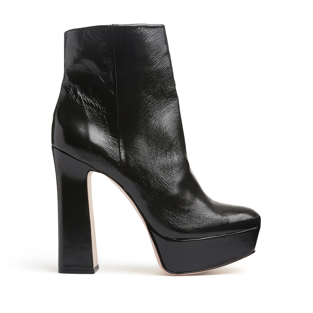 Demetria Bootie in Black