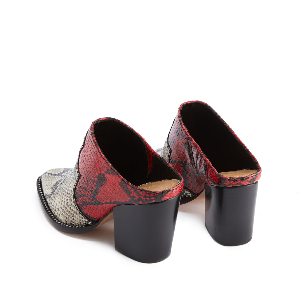 Destiny Mule in Natural Scarlet Snake