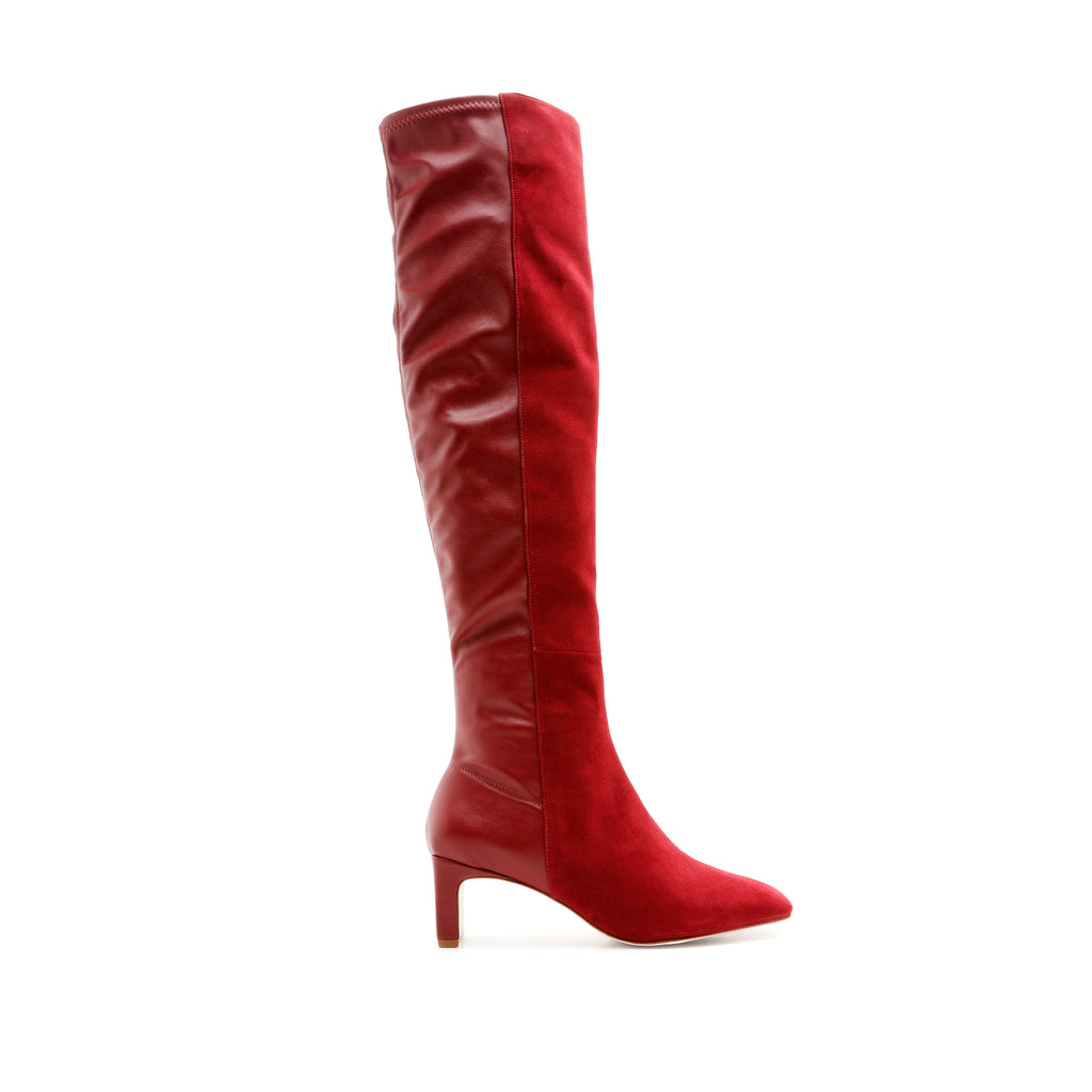 Donata Boot in Rosewood
