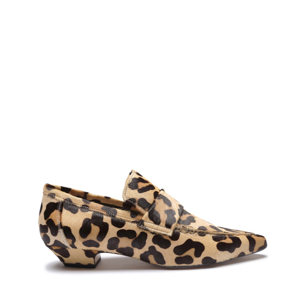 Emelie Loafer in New Beige Leopard