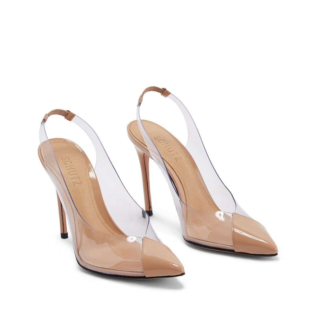 Eudora Slingback Pump in Honey Beige