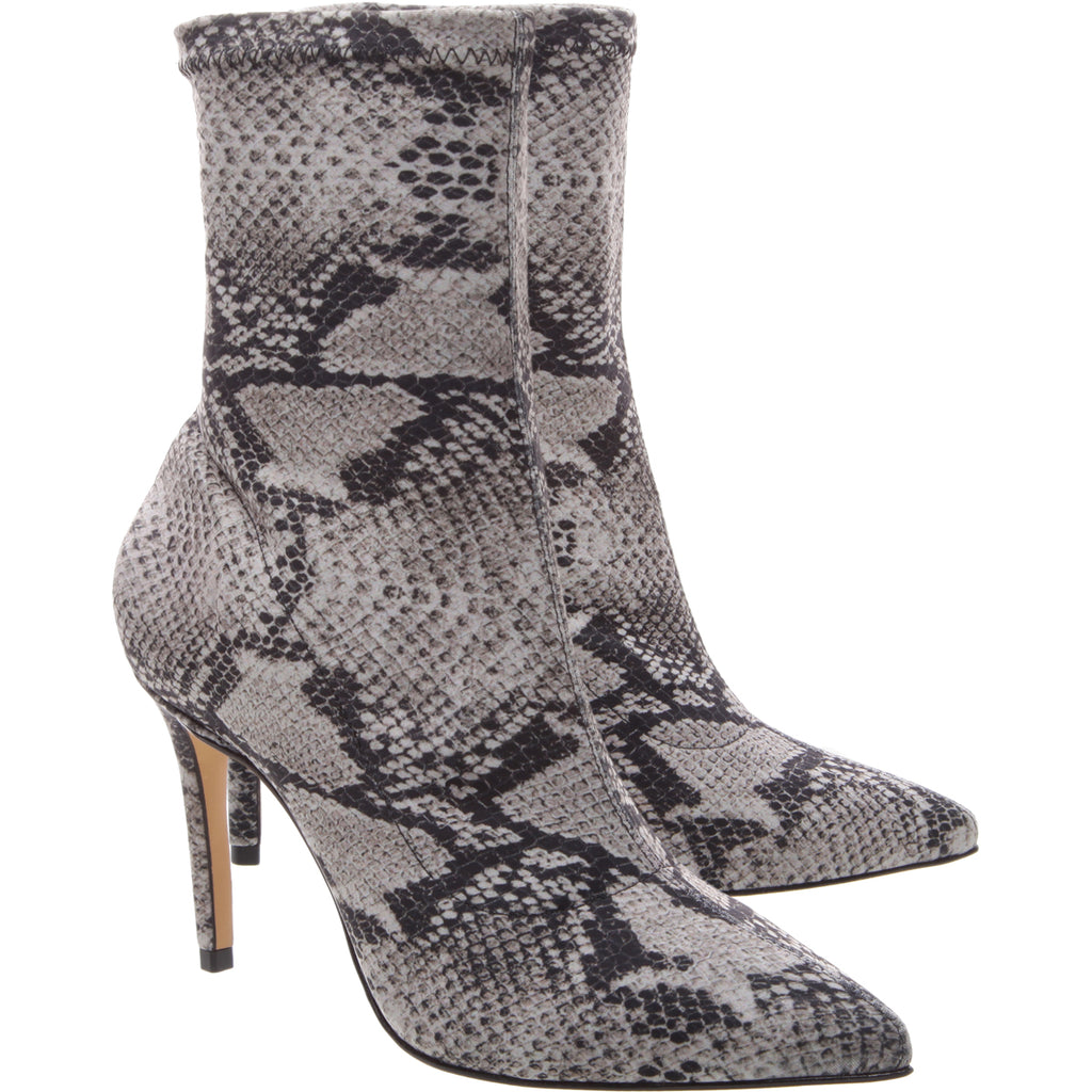Fafine Bootie in Natural Snake