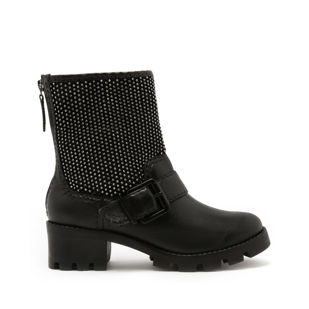 Galena Booties Black Leather