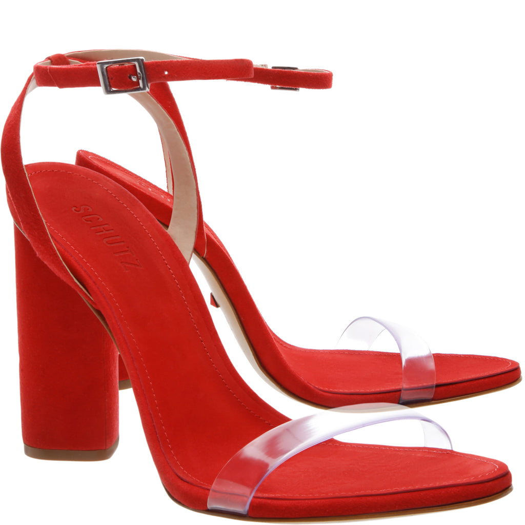 Geisy Sandal in Club Red