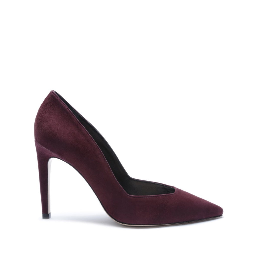 Guinewer Pump in Burgundy
