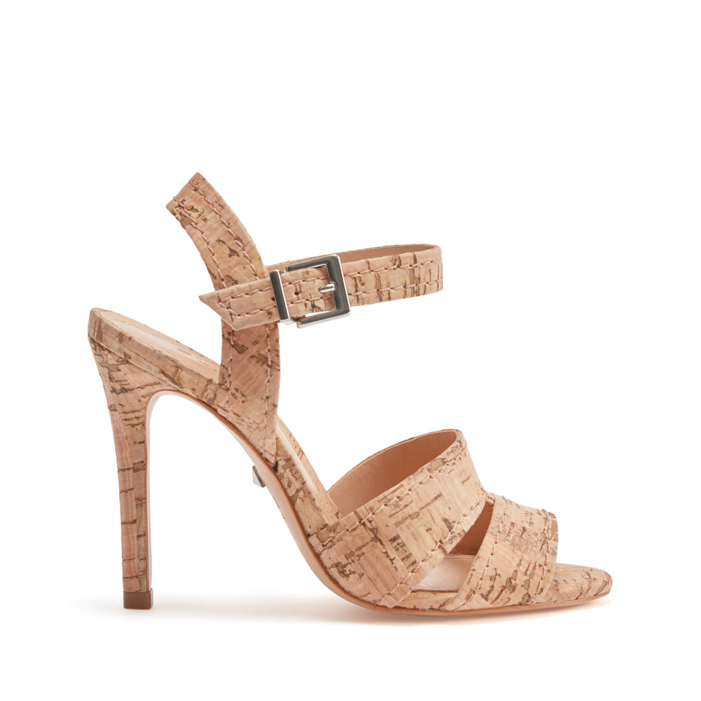 Gwen Sandal in Natural Cork