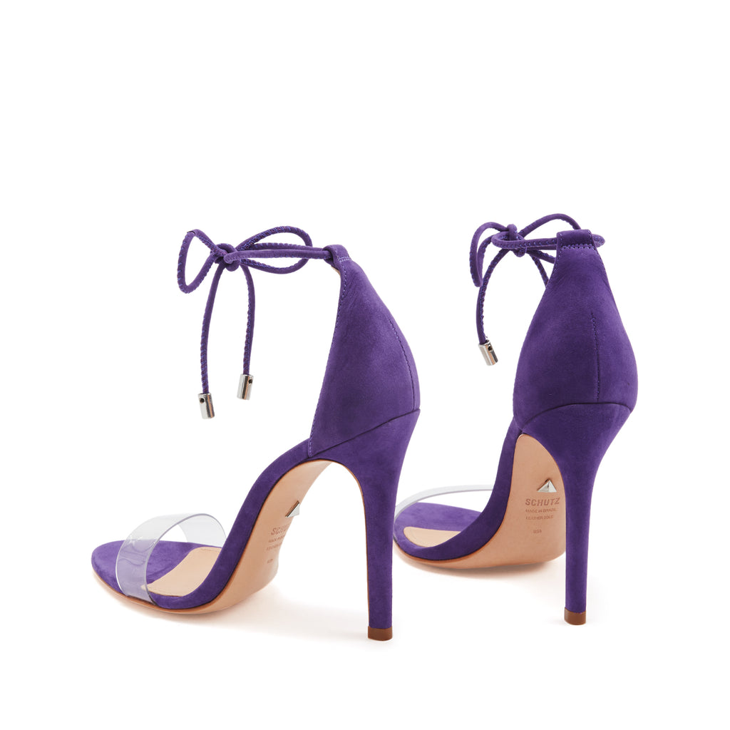 Josseana Sandal in Purple Cherry