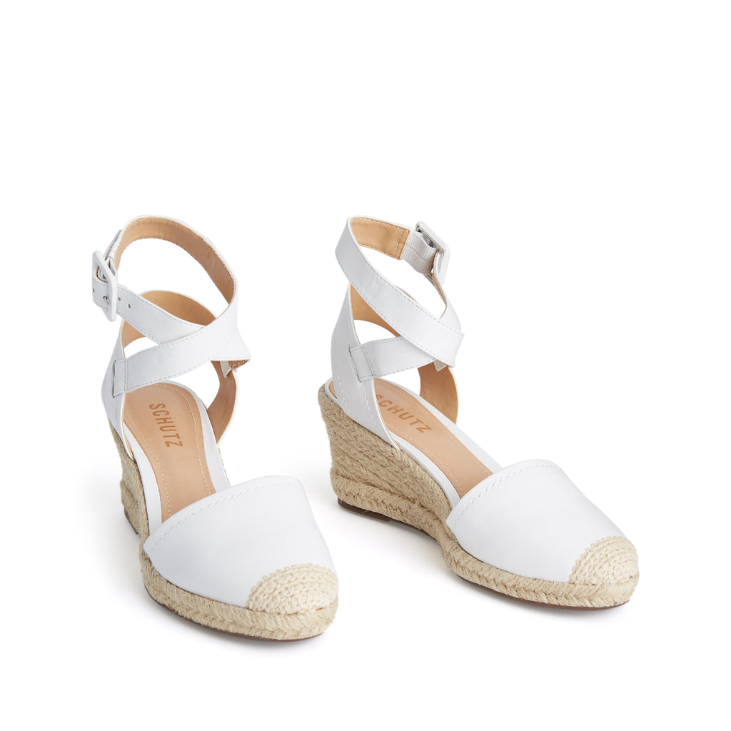 Kanope Wedge in White