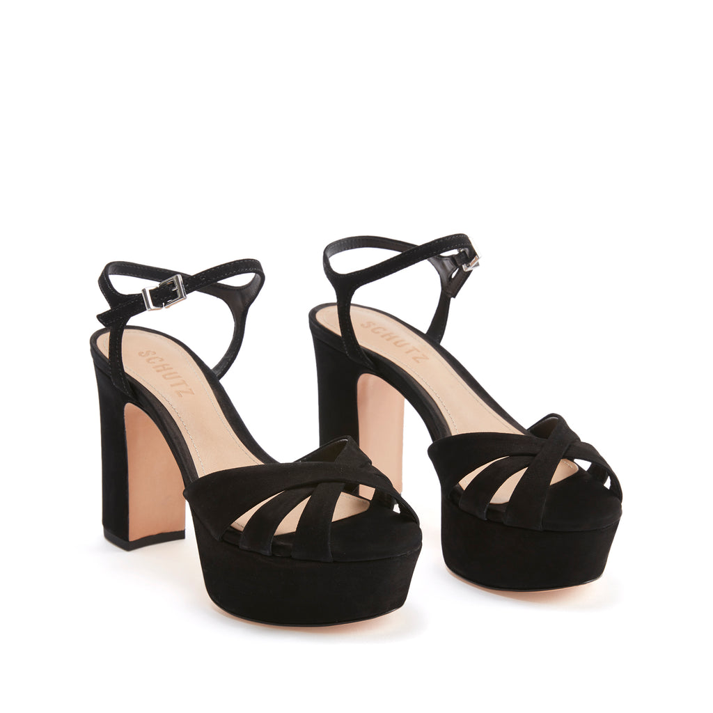 Keefa Sandal in Black