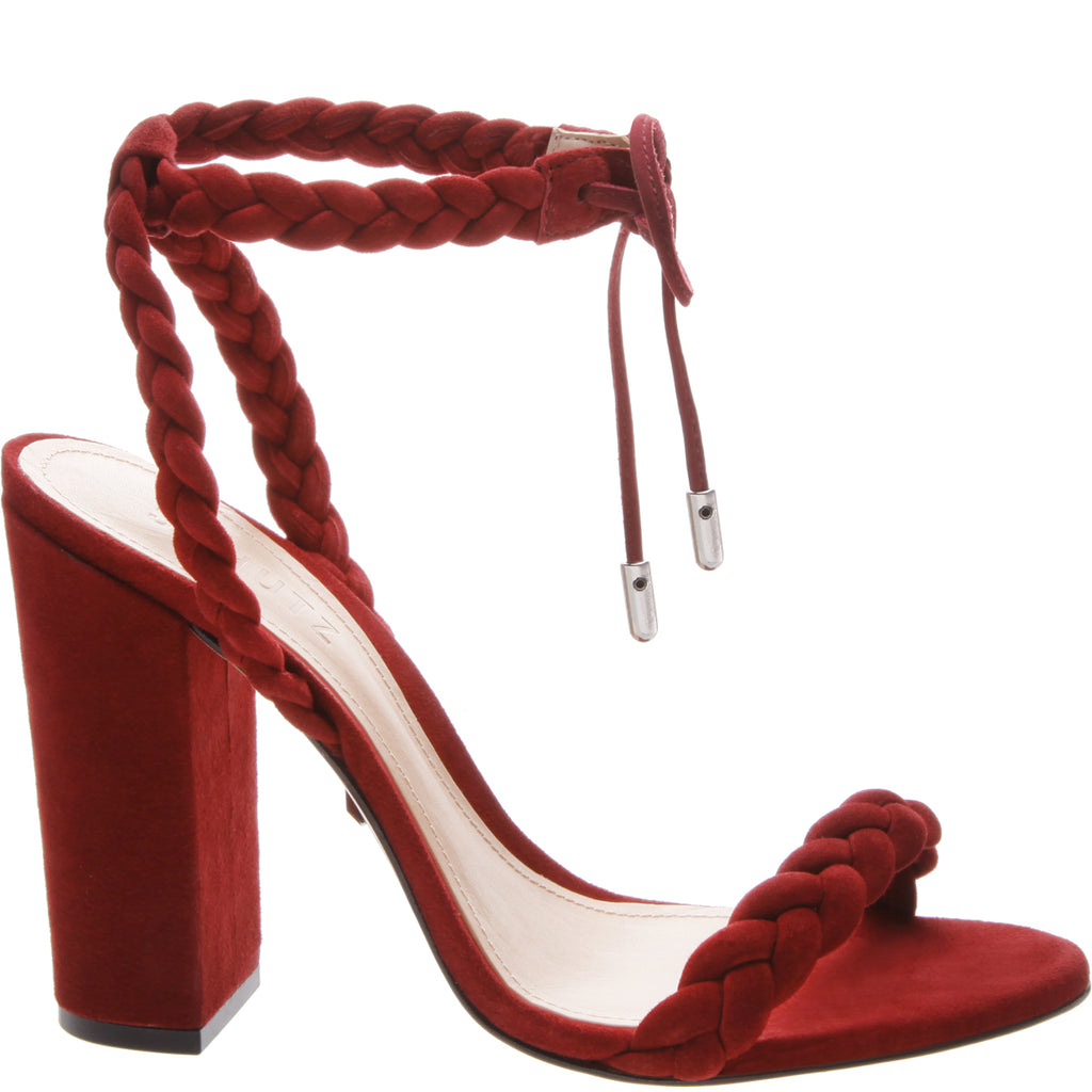Lainna Sandal in Rubi Wine