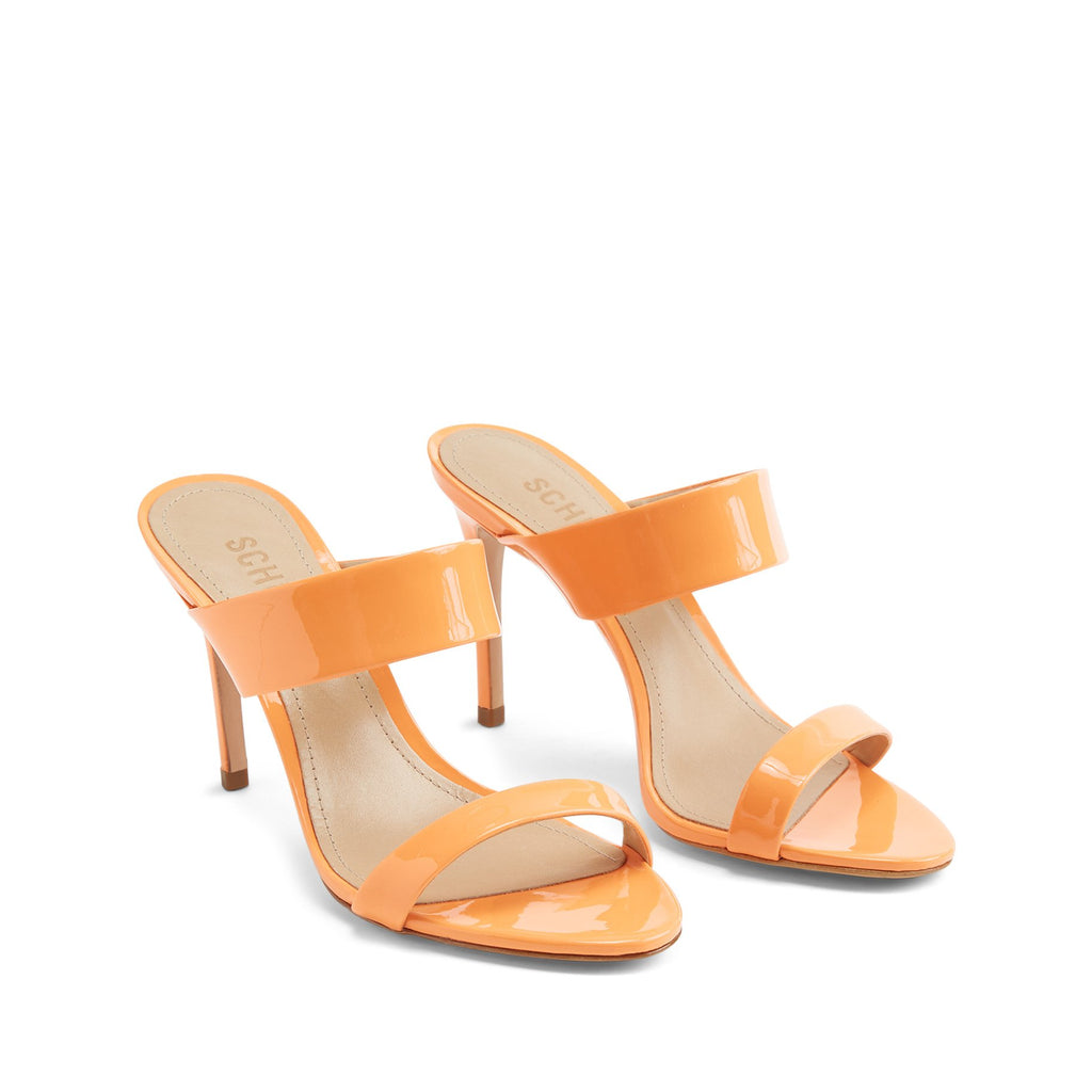 Leia Sandal in Neon Orange